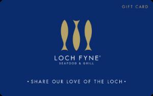 Loch Fyne Gift Card