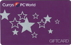 Currys and PC World Gift Card