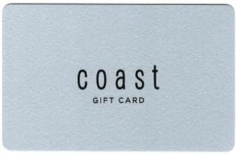 Coast Gift Card