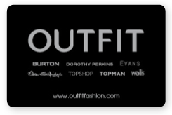 Outfit Gift Card