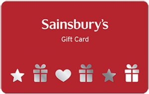 Sainsburys Gift Card