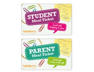 Sainsburys Student/Parent gift card