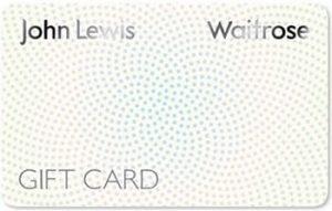 John Lewis Gift card balance