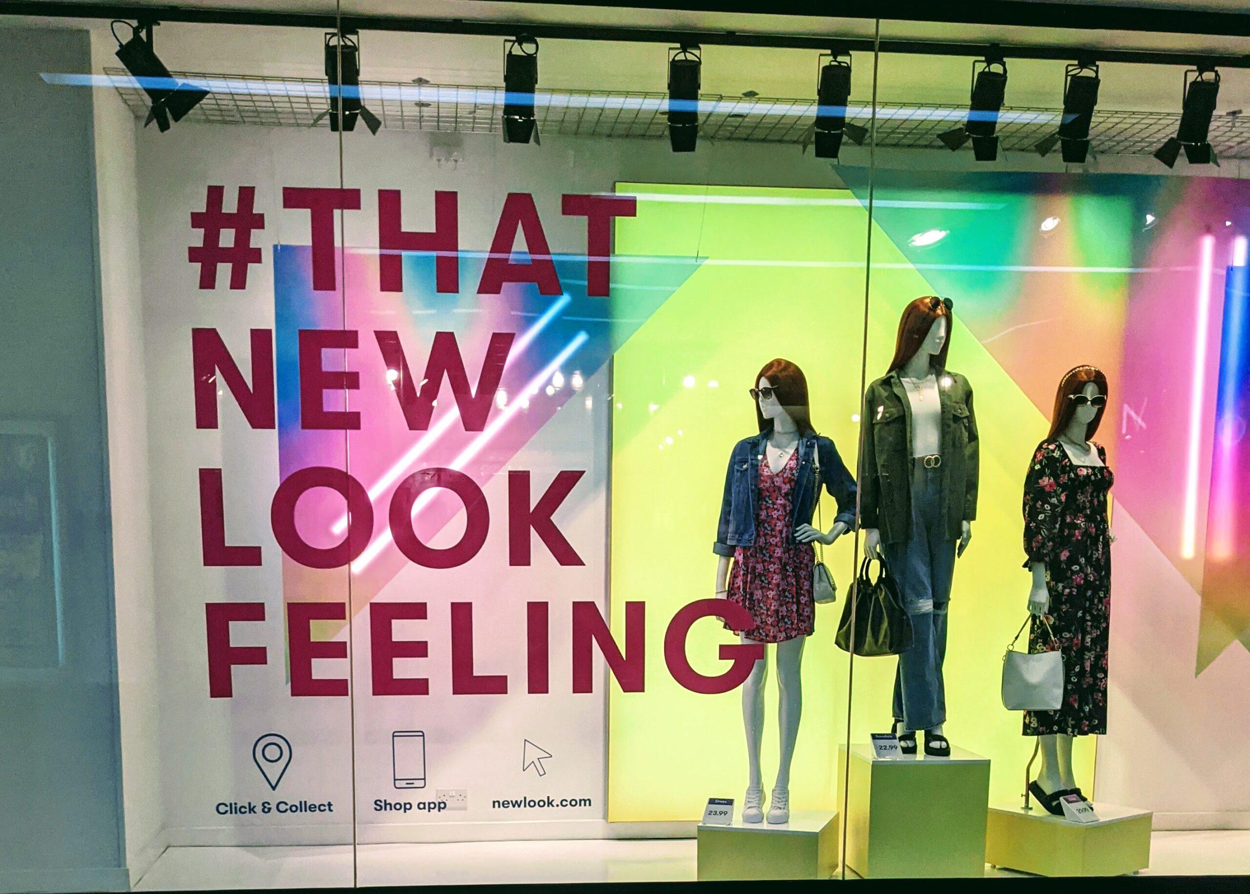 New Look Shop Window August 2021